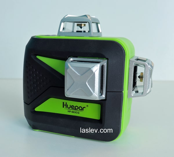 The third place in the top 7 best 3D laser levels is taken by the Huepar 603CG model.