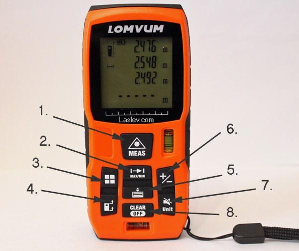Control buttons Lomvum LV40