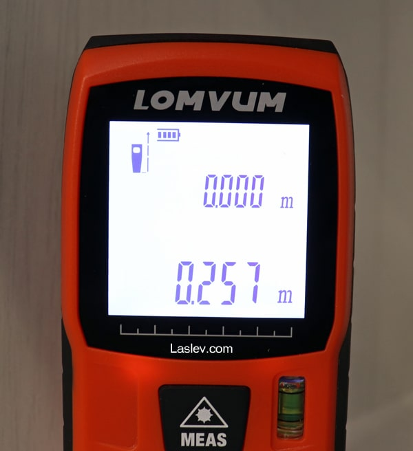 calibration menu Lomvum LV40