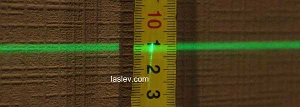 Line width at 10 meters Huepar 603CG