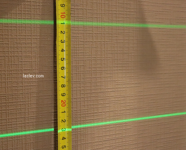 Line thickness per 10m (904DG)
