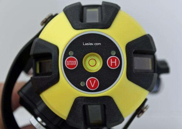 Control panel laser level Firecore FIR411G