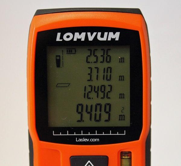 area calculation LV40
