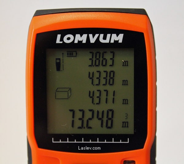volume calculation LV40