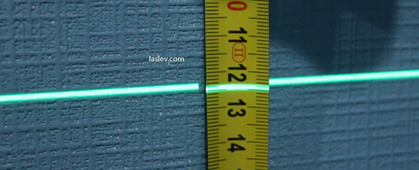 thickness of the laser line Fukuda MW-94D-4GX (1m)
