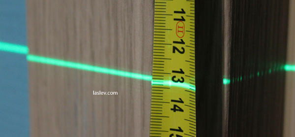 thickness of the laser line Fukuda MW-94D-4GX (5m)