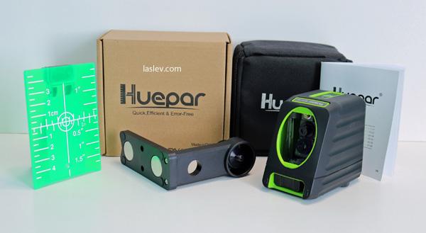 Delivery kit laser level Huepar Box-1G