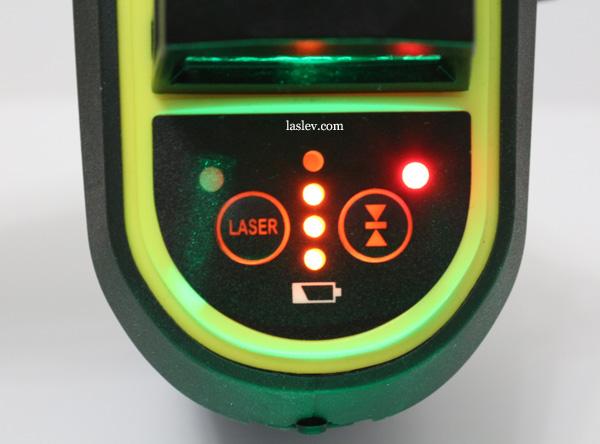 Receiver mode indicator F93T-XG
