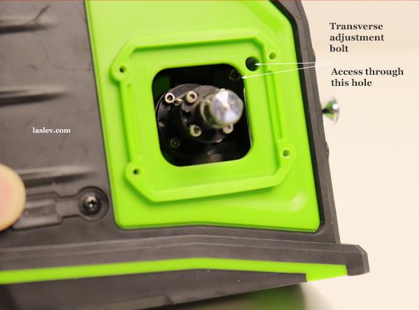 cross adjustment bolt Huepar GF360G
