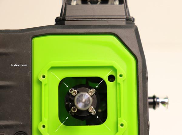 Four alignment bolts Huepar GF360G