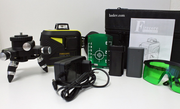 Contents of delivery Firecore F93T-XG