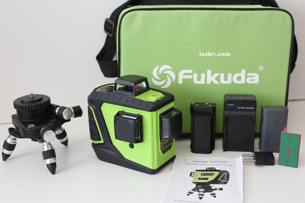 Delivery set Laser level Fukuda MW-93T-3GX