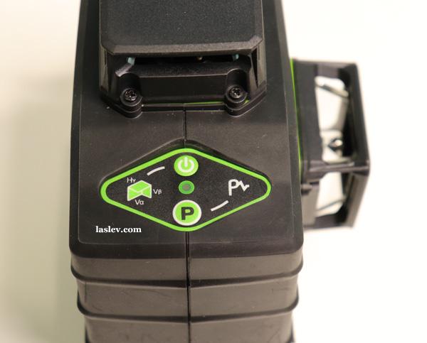 control buttons Huepar GF360G