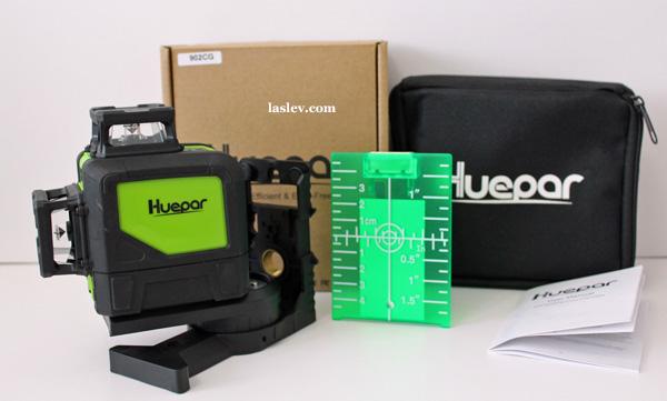 Delivery set laser level Huepar 902CG
