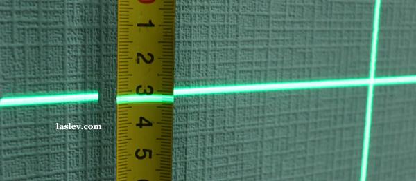 Line thickness 1m Huepar GF360G