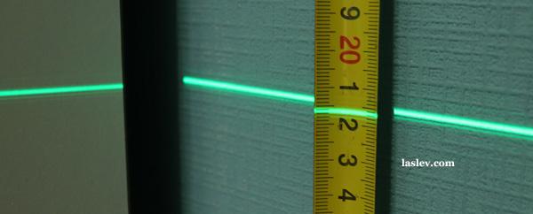 Line thickness 5m Huepar GF360G