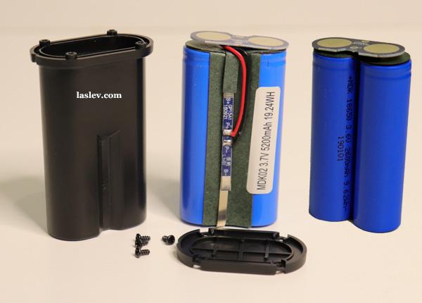 battery Huepar GF360G