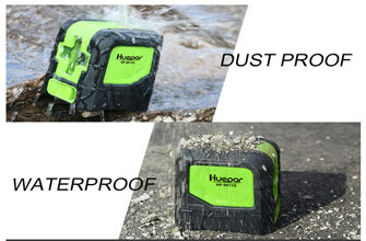 Dust and water resistant