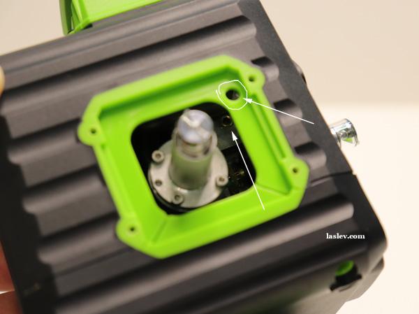 transverse adjustment bolt