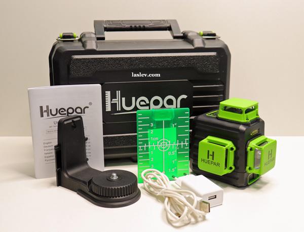 Delivery set laser level Huepar B03CG