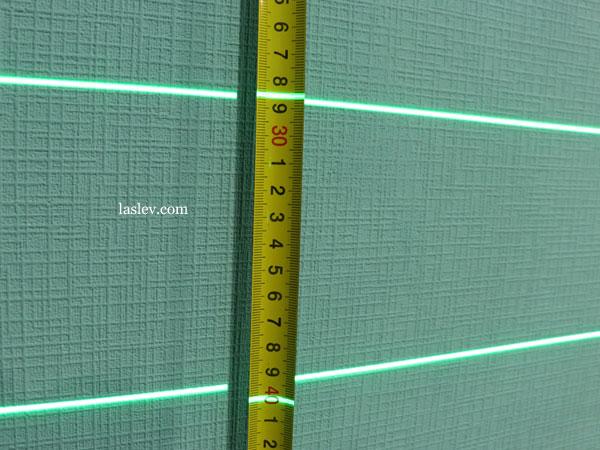 Line thickness 1m Huepar S04CG