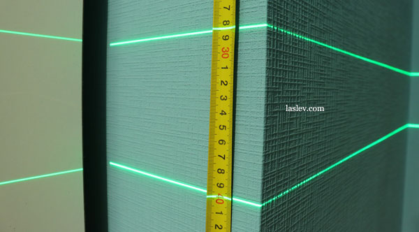 Line thickness 5m Huepar S04CG