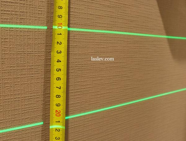 Line thickness  10m Huepar S04CG