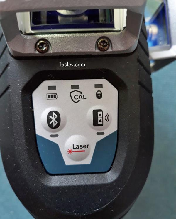 Control Panel laser level Bosch GLL3-330C