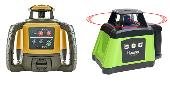 how to choose Rotary laser levels