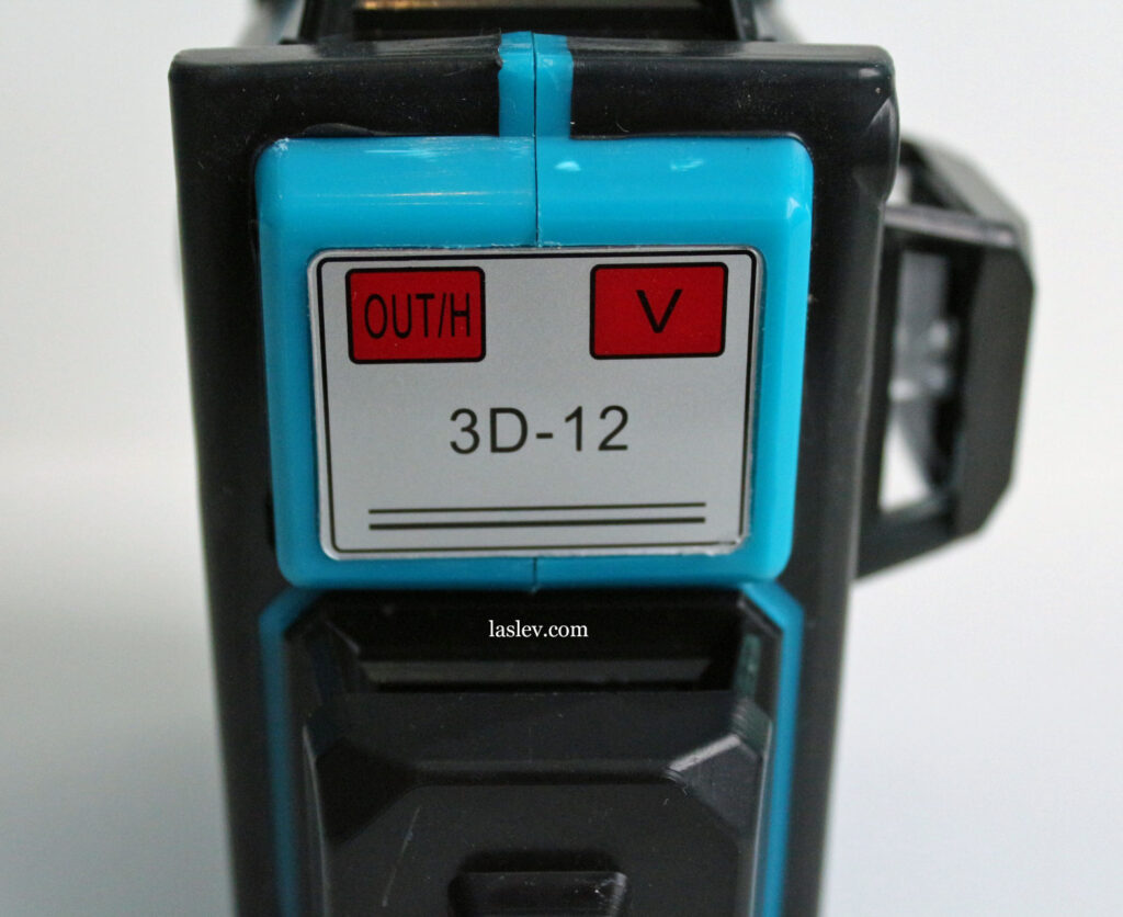 Touch control panel laser level HILDA 3D 12 Lines model LS055.