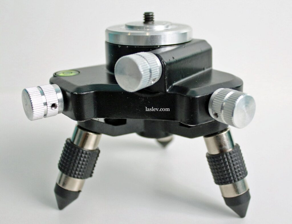 Rotary platform from the laser level HILDA 3D 12 Lines kit.
