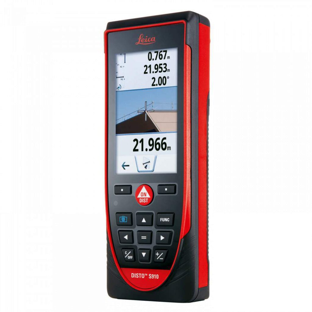 Leica DISTO S910 The coolest Laser distance meter to date.