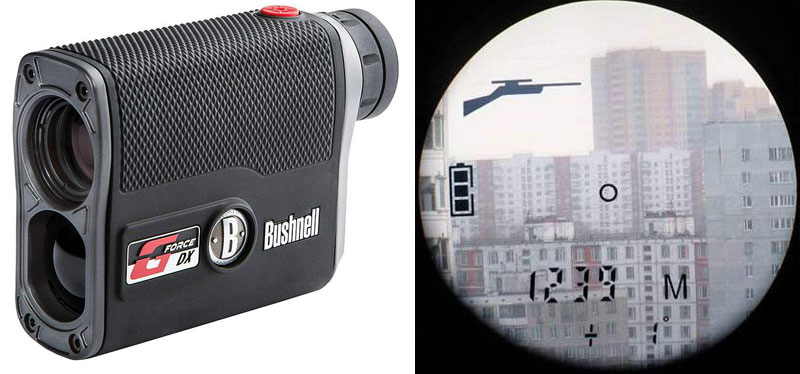 Laser rangefinders for hunting and golf.