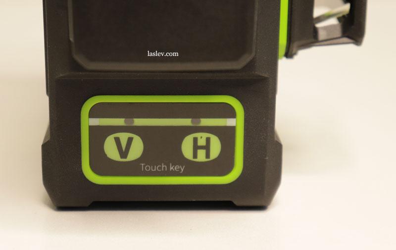 Touch panel laser level Zokoun IE16R 4D 16 Lines.
