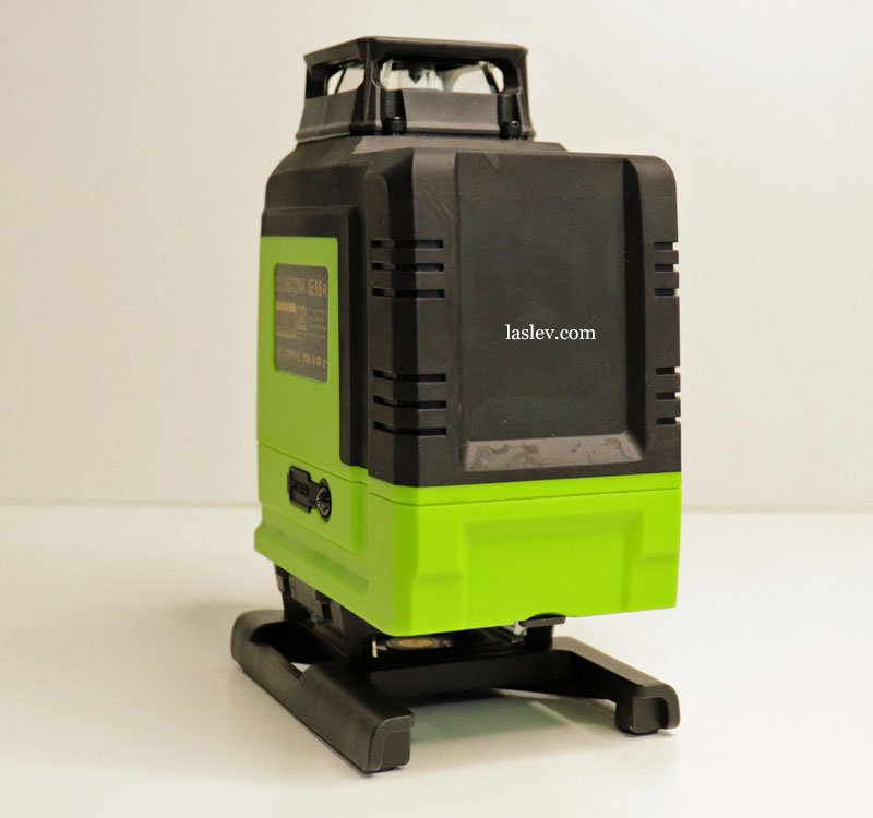 Build quality of the 16 Lines laser level Zokoun 4D.
