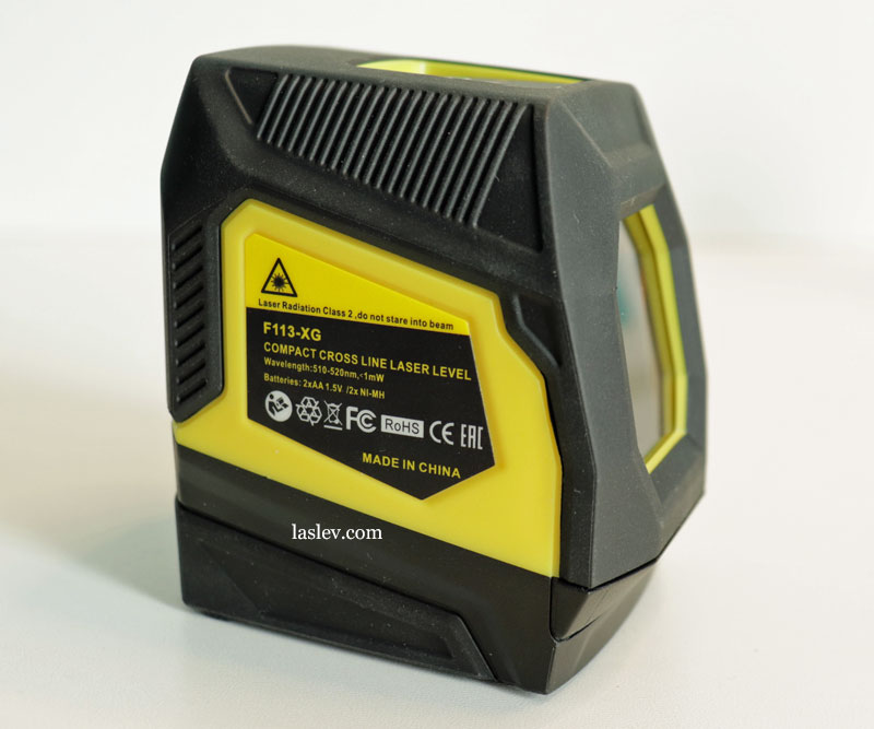 Build quality, interfacing of Firecore F113XG (XR) laser level parts.