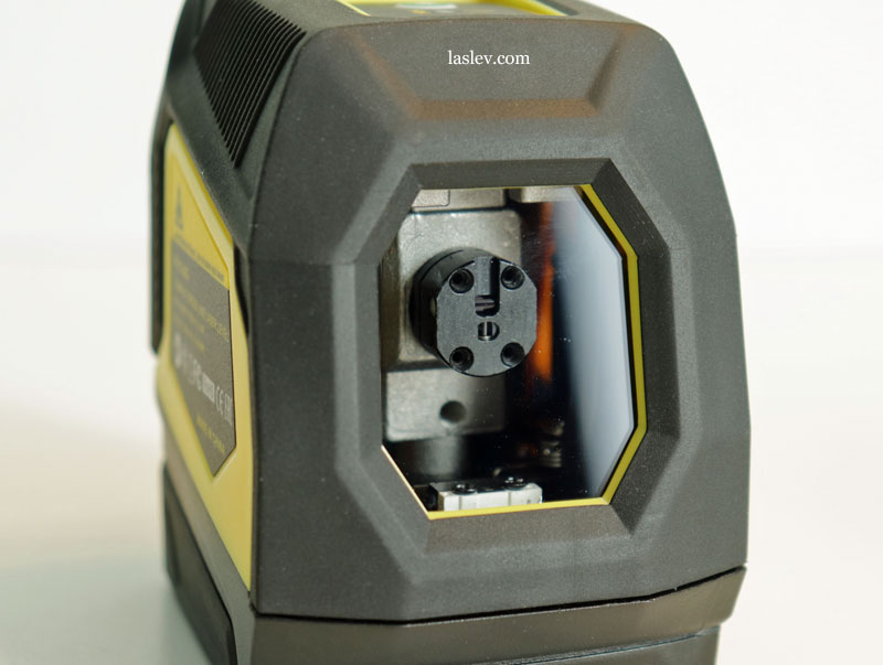 One laser module on both planes at the Firecore F113XG (XR) laser level.