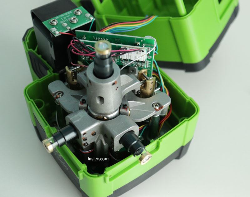 Electronic compensator of the laser level Huepar DT03CG.