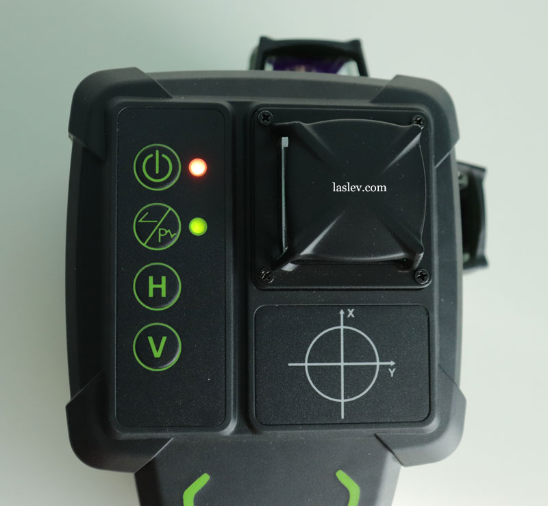 Indicator of the mode of operation with the receiver.