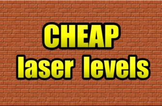List cheap laser levels