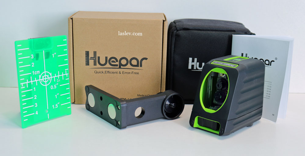 High-quality self-leveling laser level Huepar BOX-1R at a low price.