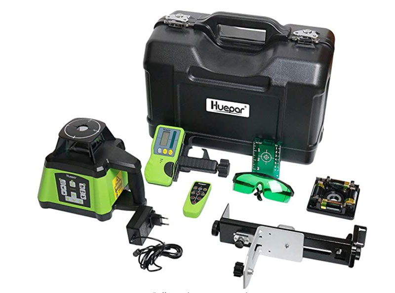 The most inexpensive and high-quality rotary laser level at 500m.