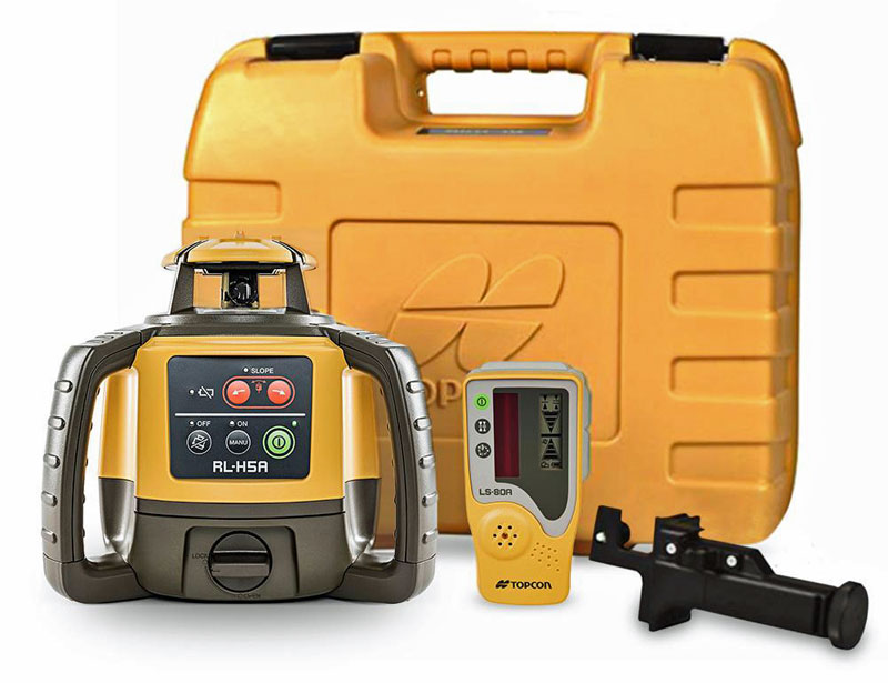 Rotary laser level up to 800 meters at a lowest price.